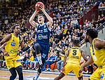 Rokas Giedraitis (ALBA Berlin #31) / Ariel Hukporti (MHP Riesen Ludwigsburg #15) / Jaleen Smith (MHP Riesen Ludwigsburg #3)  beim Spiel in der Basketball Bundesliga, MHP Riesen Ludwigsburg - ALBA Berlin.<br /> <br /> Foto © PIX-Sportfotos *** Foto ist honorarpflichtig! *** Auf Anfrage in hoeherer Qualitaet/Aufloesung. Belegexemplar erbeten. Veroeffentlichung ausschliesslich fuer journalistisch-publizistische Zwecke. For editorial use only.