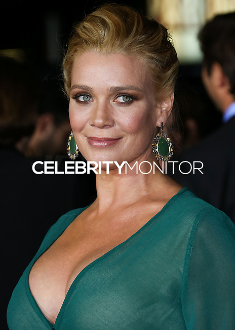 WESTWOOD, LOS ANGELES, CA, USA - NOVEMBER 03: Laurie Holden arrives at the Los Angeles Premiere Of Universal Pictures and Red Granite Pictures' 'Dumb and Dumber To' held at the Regency Village Theatre on November 3, 2014 in Westwood, Los Angeles, California, United States. (Photo by Xavier Collin/Celebrity Monitor)