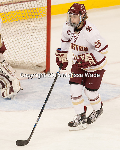 Caroline Ross (BC - 25) - The Boston College Eagles defeated the visiting University of Maine Black Bears 2-1 on Saturday, October 8, 2016, at Kelley Rink in Conte Forum in Chestnut Hill, Massachusetts.  The University of North Dakota Fighting Hawks celebrate their 2016 D1 national championship win on Saturday, April 9, 2016, at Amalie Arena in Tampa, Florida.