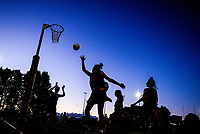 Netball. 2019 AIMS games at Blake Park in Mount Maunganui, New Zealand on Thursday, 12 September 2019. Photo: Dave Lintott / lintottphoto.co.nz