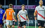 AMSTELVEEN -  Teleurstelling bij Jan-Willem Buissant (Adam) na  de play-offs hoofdklasse  heren , Amsterdam-Bloemendaal (0-2).    COPYRIGHT KOEN SUYK