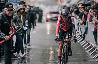 Richie Porte (AUS/BMC) rolling in as 49th... not exactly a GC-contender worthy result<br /> <br /> 104th Tour de France 2017<br /> Stage 1 (ITT) - D&uuml;sseldorf &rsaquo; D&uuml;sseldorf (14km)