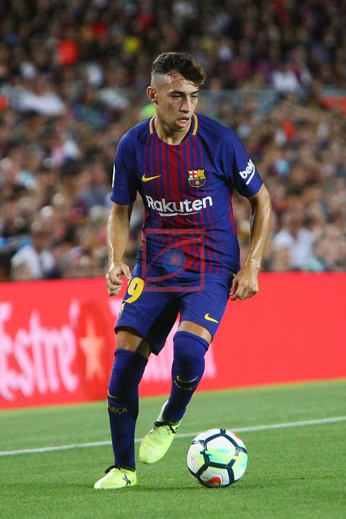 52e Trofeu Joan Gamper.<br /> FC Barcelona vs Chapecoense: 5-0.<br /> Munir.