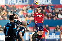 Juan Villar (forward; CA Osasuna) during the Spanish football of La Liga 123, match between CA Osasuna and CD Lugo at the Sadar stadium, in Pamplona (Navarra), Spain, on Sanday, December 2, 2018.