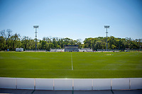 Kansas City, MO - Sunday May 07, 2017:  Children's Mercy Victory Field prior to a regular season National Women's Soccer League (NWSL) match between FC Kansas City and the Orlando Pride at Children's Mercy Victory Field.