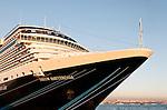 "Nieuw Amsterdam 02 - ""Nieuw Amsterdam"" cruise liner berthed at Karakoy pier, Istanbul, Turkey"