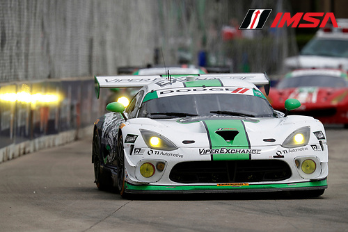 3-4 June, 2016, Detroit, Michigan, USA<br /> 33, Viper V10, Dodge GT3-R, GTD, Ben Keating, Jeroen Bleekemolen<br /> &copy;2016, Michael L. Levitt<br /> LAT Photo USA