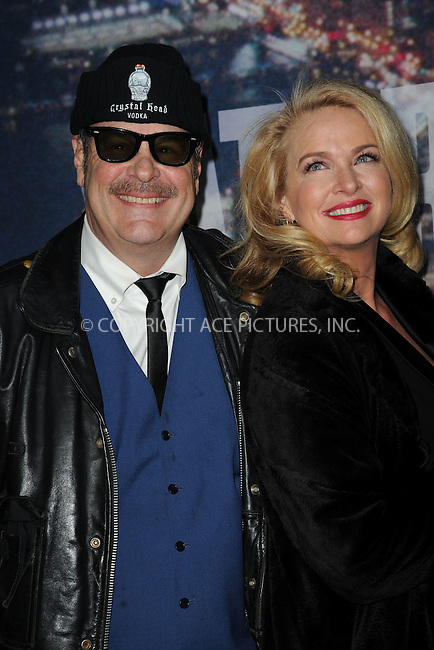 WWW.ACEPIXS.COM<br /> February 15, 2015 New York City<br /> <br /> Dan Aykroyd and Donna Dixon walking the red carpet at the SNL 40th Anniversary Special at 30 Rockefeller Plaza on February 15, 2015 in New York City.<br /> <br /> Please byline: Kristin Callahan/AcePictures<br /> <br /> ACEPIXS.COM<br /> <br /> Tel: (646) 769 0430<br /> e-mail: info@acepixs.com<br /> web: http://www.acepixs.com