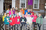 ..WALKERS: Walkers who went from The Ashe Memorial Hall, Denny Street, Tralee on Sunday morning to celebrate National Trail Day to walk one Kerry Way Walks...