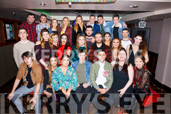 Declan Clifford celebrates his 30th birthday with family and friends in the Abbey Inn, Tralee on Saturday night.
