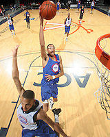 Isaiah Austin at the NBPA Top100 camp June 19, 2010 at the John Paul Jones Arena in Charlottesville, VA. Visit www.nbpatop100.blogspot.com for more photos. (Photo © Andrew Shurtleff)