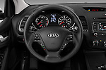 Car pictures of steering wheel view of a 2016 KIA Forte-Koup EX 2 Door Coupe Steering Wheel