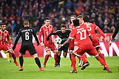 December 5th 2017, Allianze Arena, Munich, Germany. UEFA Champions league football, Bayern Munich versus Paris St Germain;  NEYMAR JR (psg) tackled by James Rodríguez (bay)