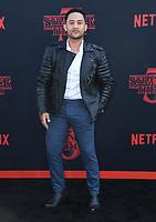 "28 June 2019 - Santa Monica, California - Taj Mowry. ""Stranger Things 3"" LA Premiere held at Santa Monica High School. <br /> CAP/ADM/BT<br /> ©BT/ADM/Capital Pictures"