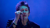 THE POGUES - vocalist Shane MacGowan - performing live at the Academy in Brixton London UK - 19 Dec 2013.  Photo credit: Iain Reid/IconicPix