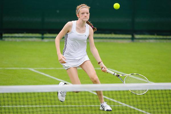 Hannah McColgan<br /> Road To Wimbledon 2013