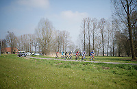 the breakaway group who would stay ahead for almost the entire race<br /> <br /> 103rd Scheldeprijs 2015