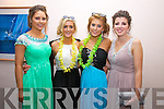 Pictured at the Colaiste na Sceilge Debs Ball in the Waterville Lake Hotel on Saturday night last were l-r; Holly Dennehy, Ciara O'Sullivan, Fausta Pudzemyte & Sonia O'Donoghue.