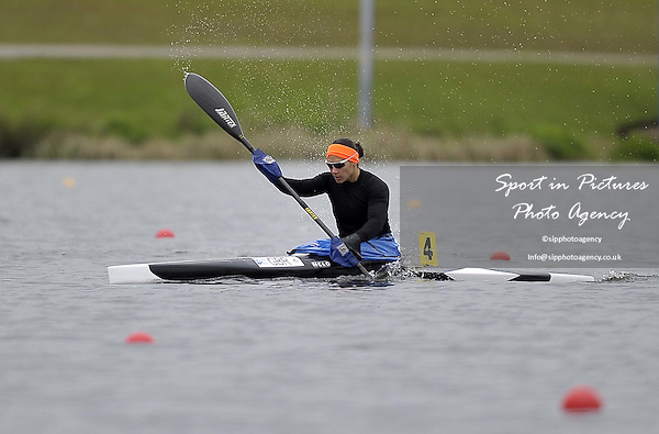 Angela Hannah. Race 1. Womens K1 500m heat 1. British Canoeing Sprint Olympic trials. National Water Sports Centre. Holme Pierrepont. Nottingham. UK. 18/04/2016. MANDATORY Credit Garry Bowden/Sportinpictures - NO UNAUTHORISED USE - 07837 394578