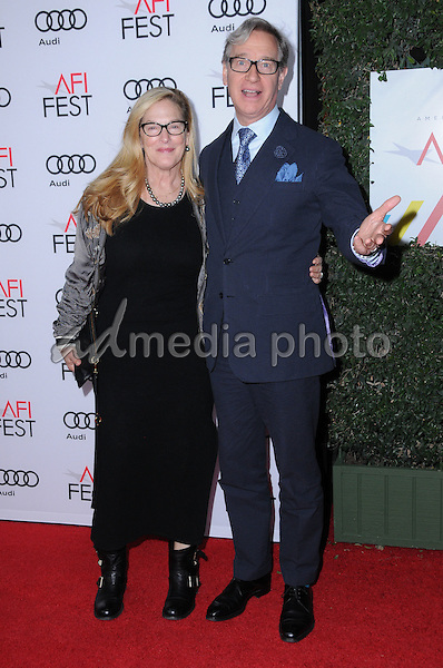 """10 November 2016 - Hollywood, California. Laurie Karon, Paul Feig. AFI FEST 2016 - Opening Night Premiere Of """"Rules Don't Apply"""" held at TCL Chinese Theater. Photo Credit: Birdie Thompson/AdMedia"""