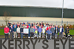 PARKINSON: A large crowd showed up at Sound Store Car Park, the Mile Hight, Tralee on Monday to walk 1k to raise funds for Parkinson Dieseses. ...