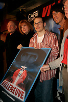 montreal, qc, canada-february 2005-  Jacques, Villeneuve at a press conference for the upcoming movie villeneuve about his father gilles villeneuve
