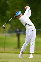 Jin Young Ko (KOR) watches her tee shot on 12 during the round 2 of the KPMG Women's PGA Championship, Hazeltine National, Chaska, Minnesota, USA. 6/21/2019.<br /> Picture: Golffile | Ken Murray<br /> <br /> <br /> All photo usage must carry mandatory copyright credit (© Golffile | Ken Murray)