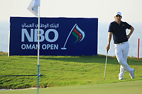 Adrien Saddier (FRA) during the second round of the NBO Open played at Al Mouj Golf, Muscat, Sultanate of Oman. <br /> 16/02/2018.<br /> Picture: Golffile | Phil Inglis<br /> <br /> <br /> All photo usage must carry mandatory copyright credit (&copy; Golffile | Phil Inglis)
