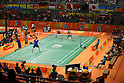 General View,<br /> AUGUST 15, 2016 - Badminton : <br /> Men's Doubles Quarter-final - Japan vs Great Britain<br /> at Riocentro - Pavilion 3<br /> during the Rio 2016 Olympic Games in Rio de Janeiro, Brazil. <br /> (Photo by Koji Aoki/AFLO SPORT)