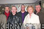 6577-6580.---------.Christmas Sparks.----------------.Bolger Fabrication,Clash Industrial Estate Tralee,dined in Kirby's BrogueInn Rock St Tralee,last Friday night for their annual staff party L-R Tom O'Sullivan,John Browne,Jamie and Kay Bolger with Paudie Murphy..