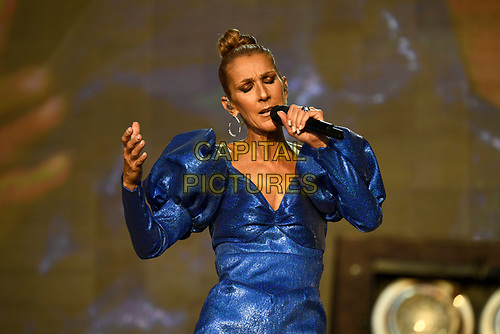 LONDON, ENGLAND - JULY 5: Celine Dion performing at British Summertime, Hyde Park on July 5, 2019 in London, England.<br /> CAP/MAR<br /> ©MAR/Capital Pictures