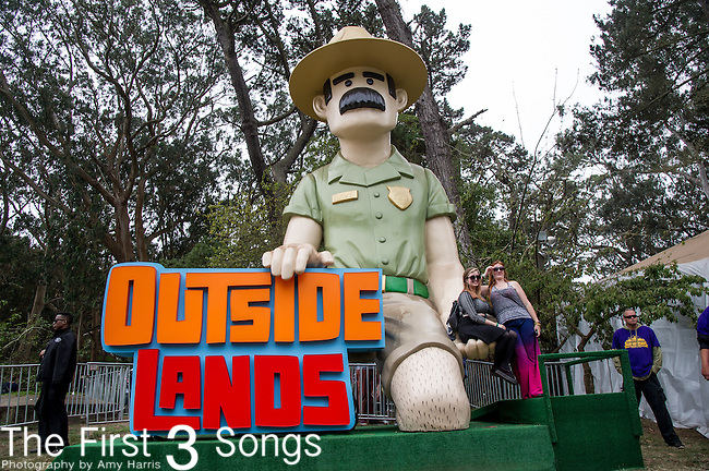 The Outside Lands Music & Art Festival at Golden Gate Park in San Francisco, California.