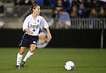 1 December 2006: Notre Dame's Kim Lorenzen. The University of Notre Dame Fighting Irish defeated Florida State Seminoles 2-1 at SAS Stadium in Cary, North Carolina in an NCAA Division I Women's College Cup semifinal game.