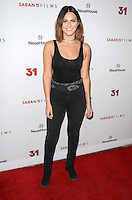 HOLLYWOOD, CA - OCTOBER 20: Scout Taylor Compton at the special screening of 31, in Hollywood, California, on October 20, 2016. Credit: David Edwards/MediaPunch
