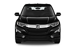 Car photography straight front view of a 2019 Honda HR-V LX 5 Door SUV