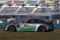 IMSA Continental Tire SportsCar Challenge<br /> December Test<br /> Daytona International Speedway<br /> Daytona Beach, FL USA<br /> Wednesday, 06 December, 2017<br /> 48, Mercedes-AMG, Mercedes-AMG GT4, GS, Jeroen Bleekemolen<br /> World Copyright: Brian Cleary<br /> LAT Images