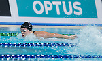 Wales Harriet West in action during the 100m butterfly<br /> <br /> *This image must be credited to Ian Cook Sportingwales and can only be used in conjunction with this event only*<br /> <br /> 21st Commonwealth Games - Swimming -  Day 1 - 05\04\2018 - Gold Coast Optus Aquatic centre - Gold Coast City - Australia
