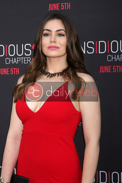 Sophie Simmons at the &quot;Insidious Chapter 3&quot; Premiere, TCL Chinese Theater, Hollywood, CA 06-04-15<br /> David Edwards/DailyCeleb.com 818-249-4998