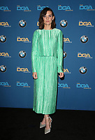 BEVERLY HILLS, CA - FEBRUARY 3: Frankie Shaw in the press room at the 70th Annual DGA Awards at The Beverly Hilton Hotel in Beverly Hills, California on February 3, 2018. <br /> CAP/MPI/FS<br /> &copy;FS/MPI/Capital Pictures