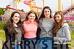 Erica teahan, orla Moynihan, Ava Teahan and Aoife O'Brien Fossa at the South Kerry Ploughing Championships in Fossa on Sunday