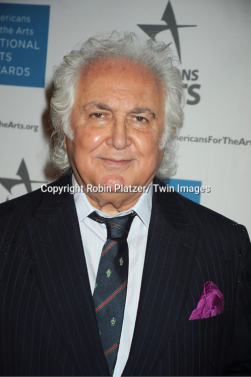 Tony Shafrazi attends the Americans for the Arts 2012 National Arts Awards on October 15, 2012 at Cipriani 42nd Street  in New York City.