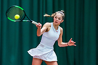 Wateringen, The Netherlands, March 16, 2018,  De Rhijenhof , NOJK 14/18 years, Nat. Junior Tennis Champ. Floor Lissone(NED)<br /> Photo: www.tennisimages.com/Henk Koster