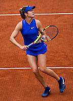 Paris, France, 26 June, 2016, Tennis, Roland Garros, Eugenie Bouchard (CAN)   <br /> Photo: Henk Koster/tennisimages.com
