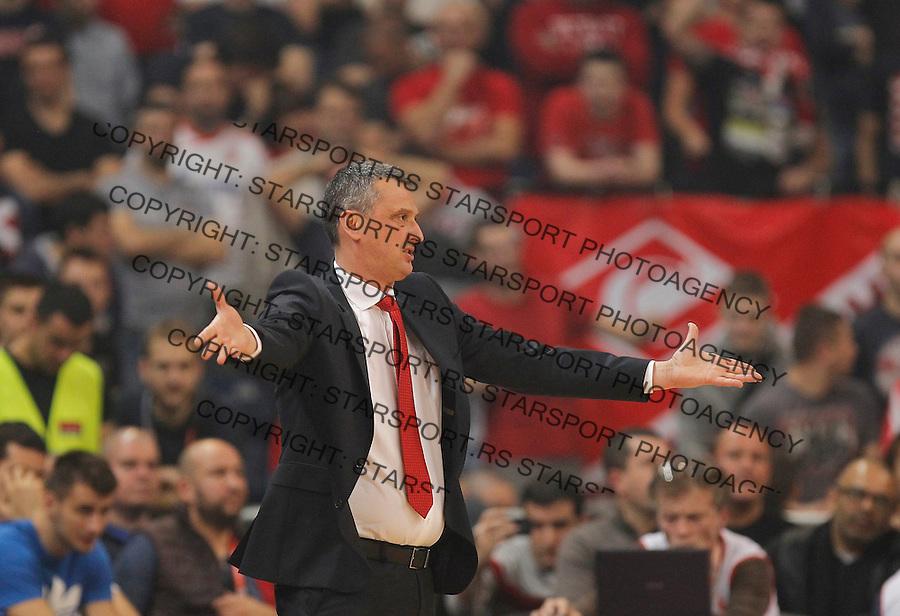 Kosarka Euroleague season 2015-2016<br /> Euroleague <br /> Crvena Zvezda v Fenebahce Istanbul<br /> head coach Dejan Radonjic<br /> Beograd, 06.11.2015.<br /> foto: Srdjan Stevanovic/Starsportphoto &copy;