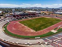 Vista aerea de Complejo deportivo de la Comisi&oacute;n Estatal de Deporte, CODESON en Hermosillo, Sonora....<br /> Estadio H&eacute;roe de Nacozari. <br /> CUM. <br /> Pista de Atletismo <br /> <br /> Photo: (NortePhoto / LuisGutierrez)<br /> <br /> ...<br /> keywords: