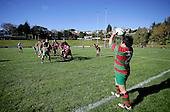 Bob Chandler Memorial final - Senior 1 Championship, Puni vs Waiuku. Puni won 15 - 13. Counties Manukau club rugby finals played at Growers Stadium, Pukekohe, 24th of June 2006.