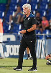Atalanta BC's coach Gianpiero Gasperini during friendly match. August 10,2019. (ALTERPHOTOS/Acero)