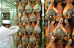 Slovenia, Kras, Ham production