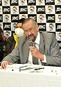 Frank Quill,.MARCH 26, 2012 - Boxing :.WBC supervisor Frank Quill speaks during the signing ceremony for the WBC super flyweight title bout at Korakuen Hall in Tokyo, Japan. (Photo by Hiroaki Yamaguchi/AFLO)