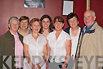 Ellen O'Brien, Bridget Troy, Bridget Harrington, Gillian McCarthy, Breda McCarthy, Catherine Connelly and Bobby O'Brien Kenmare having a ball at the Gathering festival in the INEC on Saturday night   Copyright Kerry's Eye 2008